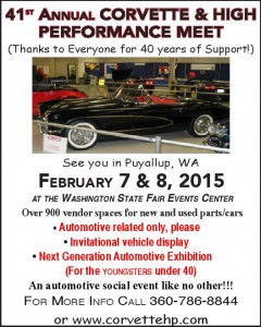 41st Annual Corvette & High Performance Meet @ Washington State Fair & Events Center | Puyallup | Washington | United States